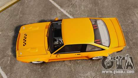 Opel Manta for GTA 4 right view