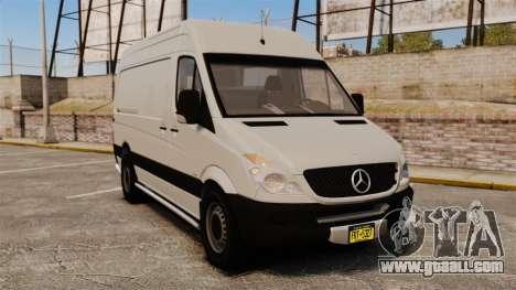 Mercedes-Benz Sprinter 2500 Delivery Van 2011 for GTA 4