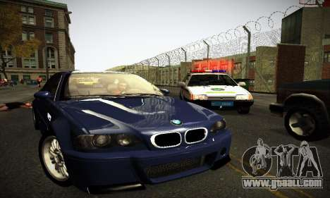 BMW E46 M3 CSL for GTA San Andreas