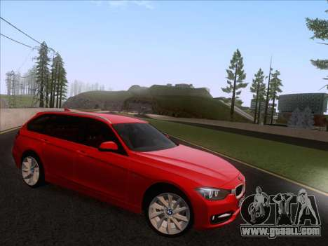 BMW 3 Touring F31 2013 for GTA San Andreas