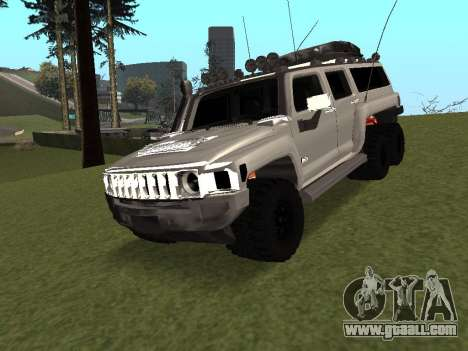 Hummer H3 6x6 for GTA San Andreas
