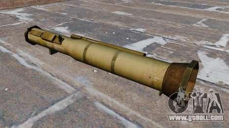 Anti-tank grenade launcher AT4 for GTA 4 second screenshot