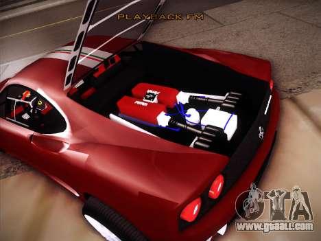 Ferrari 360 Challenge Stradale for GTA San Andreas side view