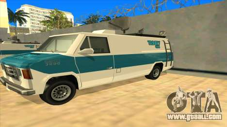 News Van HQ for GTA San Andreas