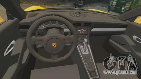 Porsche 911 Turbo 2014 [EPM] Turbo Side Stripes for GTA 4 inner view