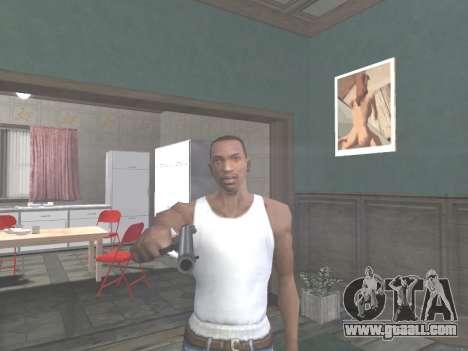 Ruger .22 for GTA San Andreas forth screenshot
