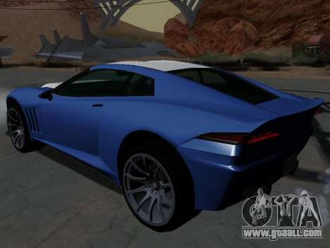 Coquette from GTA 5 for GTA San Andreas left view