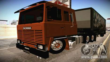 Scania LK 141 6x2 for GTA San Andreas