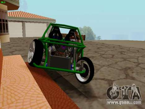 Nocturnal Motorsports Coyote for GTA San Andreas back view