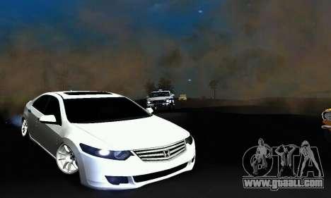 Honda Accord Tuning for GTA San Andreas left view