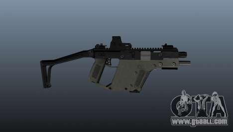 Submachine gun Kriss Super V for GTA 4 third screenshot