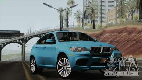 BMW X6M for GTA San Andreas side view