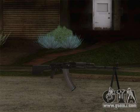 The RPK-74 m for GTA San Andreas