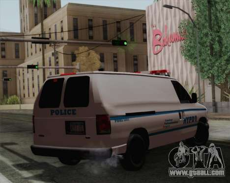 Ford F150 Police for GTA San Andreas left view