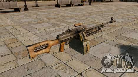 Kalashnikov Machine Gun for GTA 4 second screenshot