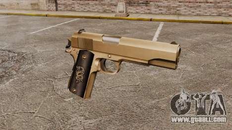 Colt M1911 pistol v2 for GTA 4