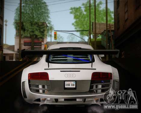 Audi R8 LMS Ultra v1.0.1 DR for GTA San Andreas right view