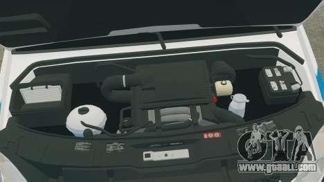 Mercedes-Benz Sprinter 2500 Prisoner Transport for GTA 4 inner view