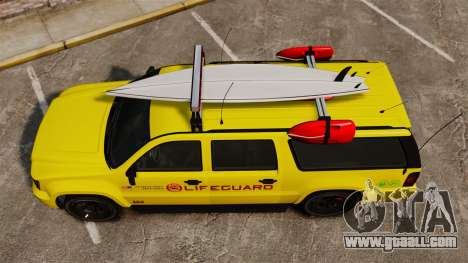 GTA V Declasse Granger 3500LX Lifeguard for GTA 4 right view