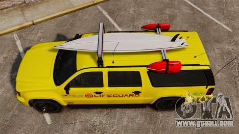 GTA V Declasse Granger 3500LX Lifeguard for GTA 4 right view