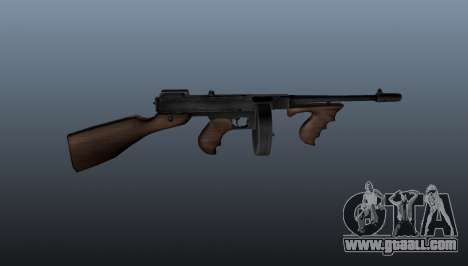 Thompson M1928 submachine gun for GTA 4 third screenshot