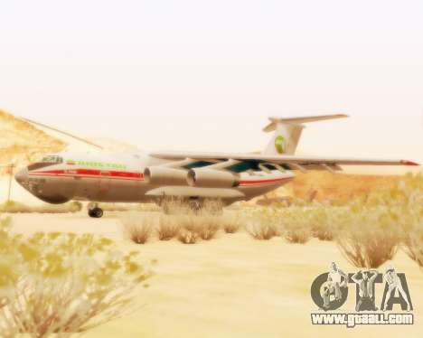 Ilyushin Il-76td for GTA San Andreas left view