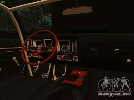 Chevrolet Camaro z28 Falken edition for GTA San Andreas back view