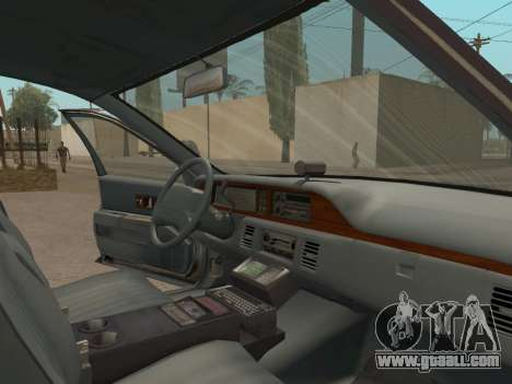 Chevrolet Caprice SFPD 1991 for GTA San Andreas right view