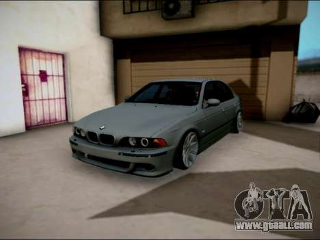 BMW M5 E39 for GTA San Andreas inner view