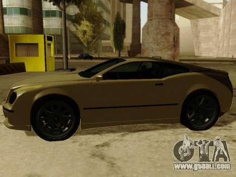Cognocsenti Cabrio from GTA 5 for GTA San Andreas back view