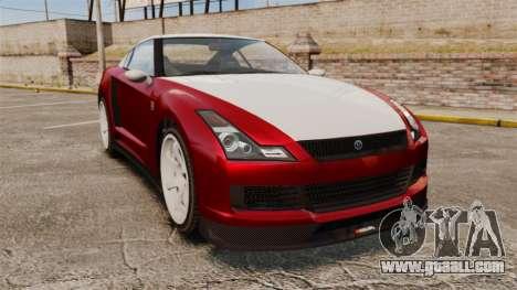 GTA V Elegy RH8 for GTA 4
