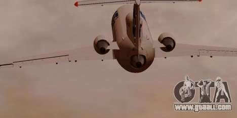 Yak-42D UTair for GTA San Andreas right view