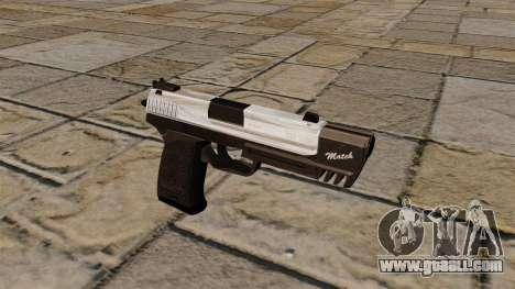 HK USP Pistol Match for GTA 4