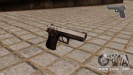 Jericho 941 pistol for GTA 4