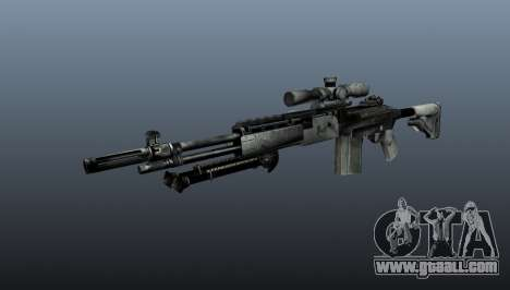 Sniper rifle M21 Mk14 v1 for GTA 4
