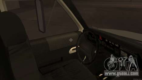 Ambulance HD from GTA 3 for GTA San Andreas back view