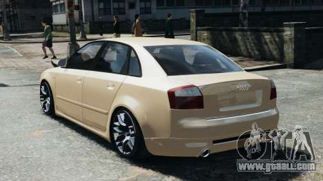 Audi S4 2004 for GTA 4 left view