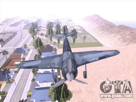 LA-5 for GTA San Andreas left view