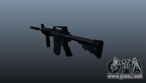 Automatic carbine M4A1 Grip for GTA 4 second screenshot