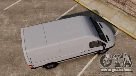Mercedes-Benz Sprinter 2500 2011 v1.4 for GTA 4 right view