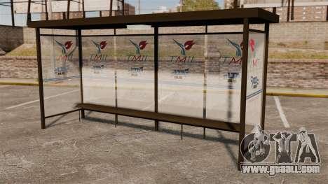Bus stops Naruto for GTA 4 fifth screenshot