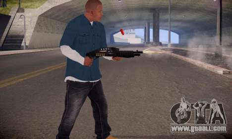 Franklin for GTA San Andreas third screenshot