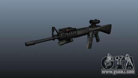 Assault rifle M16A4 AEG for GTA 4