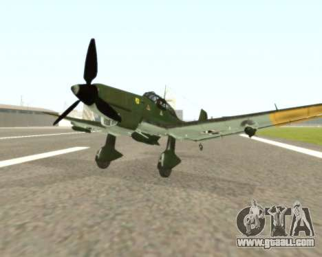 Junkers Ju-87 Stuka for GTA San Andreas