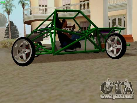 Nocturnal Motorsports Coyote for GTA San Andreas left view