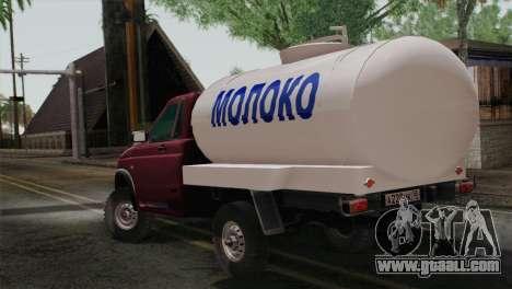 UAZ-2360 Milk for GTA San Andreas left view