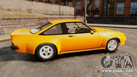Opel Manta for GTA 4 left view