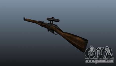 Mosin-Nagant for GTA 4 second screenshot