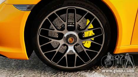 Porsche 911 Turbo 2014 [EPM] for GTA 4 back view