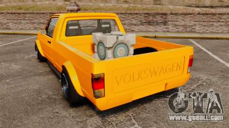 Volkswagen Caddy for GTA 4 back left view